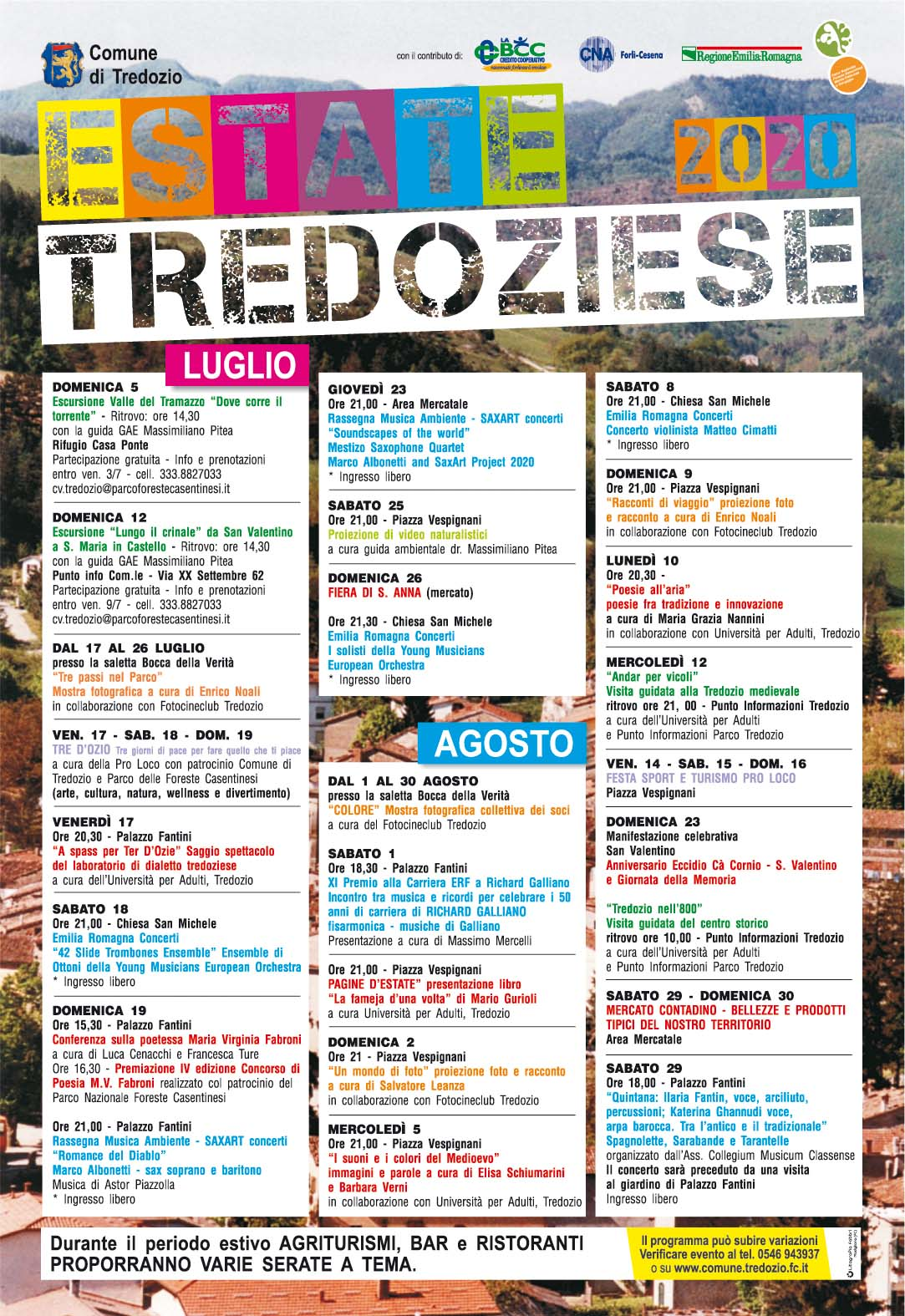 estate tredoziese