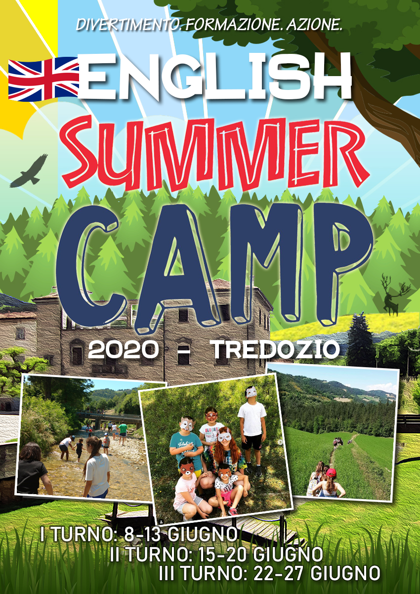English Summer Camp - fronte
